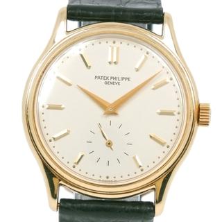 パテックフィリップ(PATEK PHILIPPE)のパテックフィリップ カラトラバ  cal.215PS 3923SJ(腕時計(アナログ))