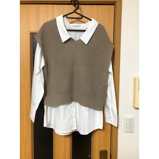 しまむら - しまむら♡シャツ&ベスト美品