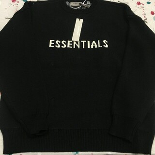 FEAR OF GOD - 新品未使用ESSENTIALS FEAR OF GODニットセーター S