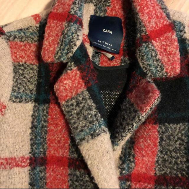 ZARA(ザラ)のZARA チェスターコート  レディースのジャケット/アウター(チェスターコート)の商品写真