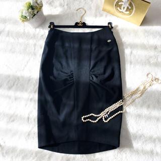 CHANEL - 美品 CHANEL シャネル ブラック リトルブラック スカート フォーマル