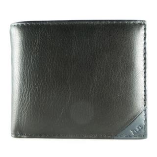 ヒロミチナカノ(HIROMICHI NAKANO)のヒロミチナカノ      牛革     ブラック   メンズ  二(財布)