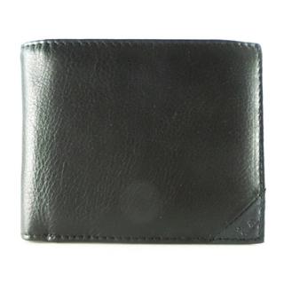 ヒロミチナカノ(HIROMICHI NAKANO)のヒロミチナカノ      牛革     ブラック     二つ折り(財布)