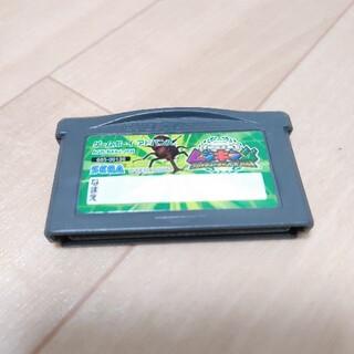 ゲームボーイアドバンス(ゲームボーイアドバンス)の甲虫王者ムシキング ~グレイテストチャンピオンへの道~(携帯用ゲームソフト)