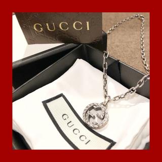 グッチ(Gucci)の☆美品 箱付き☆グッチ GUCCI インターロッキングGネックレス(ネックレス)