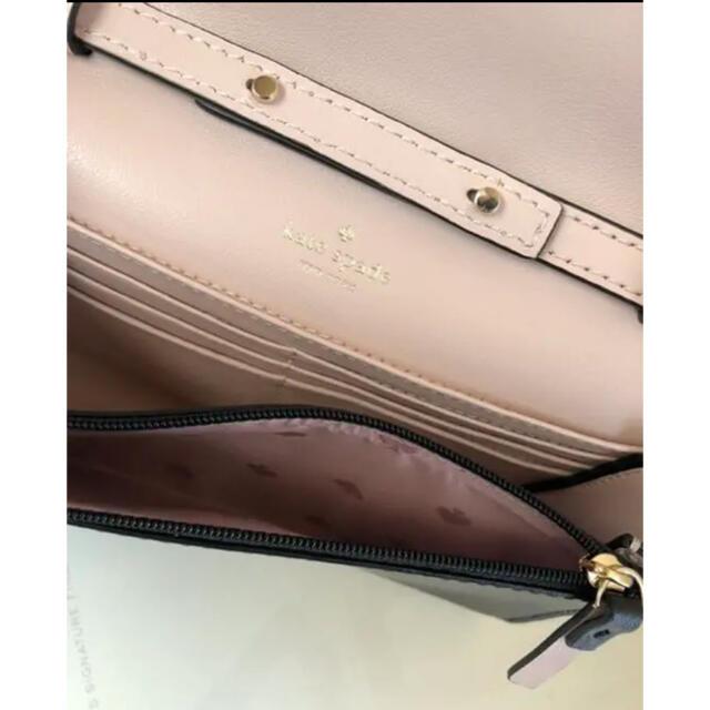 kate spade new york(ケイトスペードニューヨーク)のケイトスペード ショルダーバッグ  お財布ショルダー ブラック レディースのバッグ(ショルダーバッグ)の商品写真