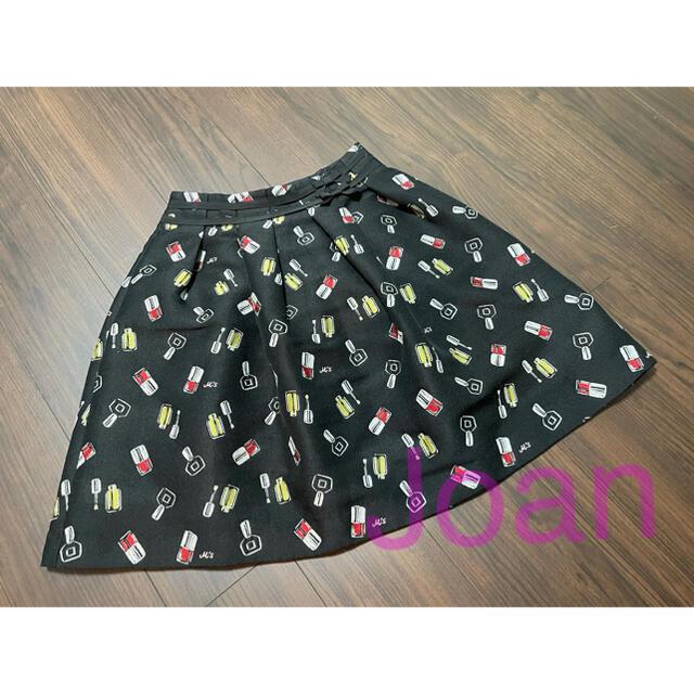 M'S GRACY(エムズグレイシー)のエムズグレイシー マニュキアモチーフスカート レディースのスカート(ひざ丈スカート)の商品写真