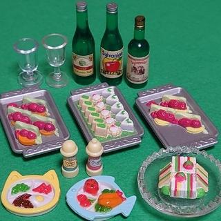 【シルバニアファミリー 】食べ物 ランチプレート ビュッフェ バイキング