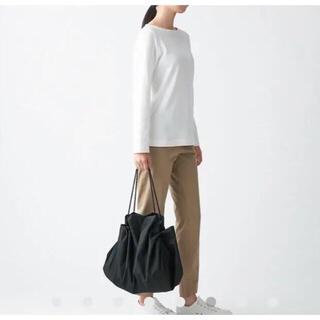 MUJI (無印良品) - 新品 未使用 無印良品 ポケッタブル バッグ エコバッグ ブラック 黒