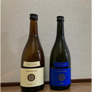 【新政】 瑠璃(ラピスラズリ) & 生成(エクリュ) 2本セット(日本酒)