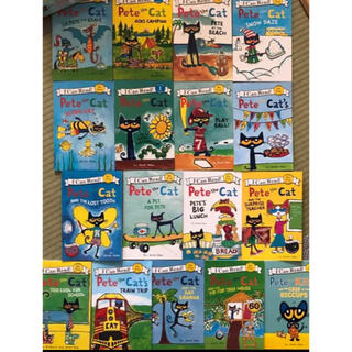 I can read Pete the cat 17冊 子供英語絵本(洋書)