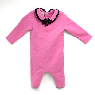 Gucci - 美品 グッチ 518791 ベビー服 baby ロンパース オーバーオール