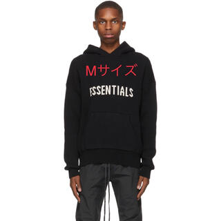 FEAR OF GOD - Fear Of God Essentials Knit Logo Hoodie