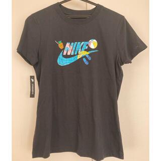 ナイキ(NIKE)のナイキ ウィメンズTシャツ レディースM 黒(Tシャツ(半袖/袖なし))