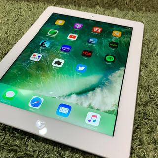 iPad - 【美品】iPad4 WIFI+cellular アイパッド 第4世代 ホワイト