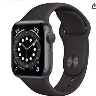 Apple Watch - Apple Watch Series 6 40mm ブラックスポーツバンド