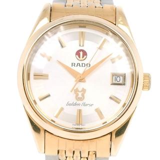 ラドー(RADO)のラドー ゴールデンホース 633.3649.2 SS 金メッキ ゴー(腕時計(アナログ))