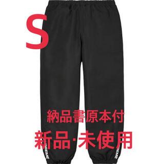 シュプリーム(Supreme)の【新品】SUPREME 20AW Warm Up Pant BLACK Sサイズ(その他)