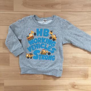 ホットビスケッツ(HOT BISCUITS)のミキハウス ホットビスケッツ トレーナー100(Tシャツ/カットソー)