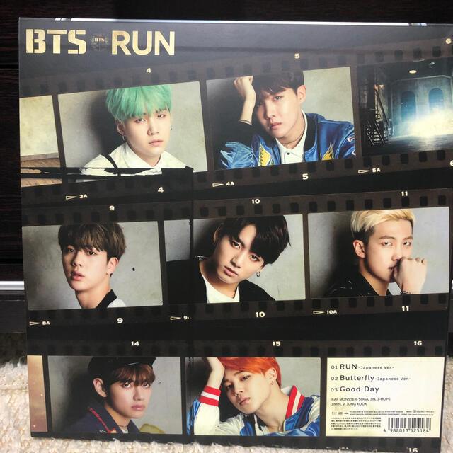 防弾少年団(BTS)(ボウダンショウネンダン)のRUN 限定盤 CD エンタメ/ホビーのCD(K-POP/アジア)の商品写真