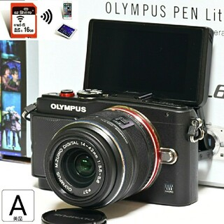 OLYMPUS - 【OLYMPUS】Wi-Fiでスマホへ転送!自撮り★E-PL6レンズセット