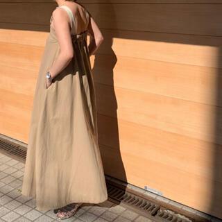 シールームリン(SeaRoomlynn)のchinoフレアサロペットスカート(サロペット/オーバーオール)