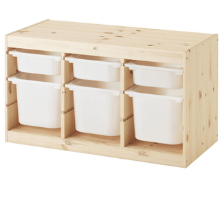 イケア(IKEA)のみい様専用 トロファスト 収納コンビネーション IKEA(収納/チェスト)