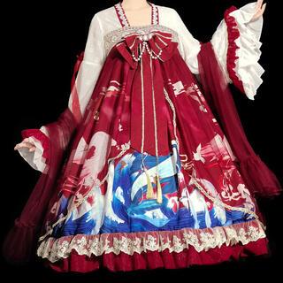 森ガールゴスロリ華ロリータ 原宿最高品質ドレスアップ(衣装一式)