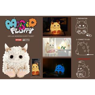 """【新品未開封】Monster Fluffy """"Life with Fuzzy"""" (キャラクターグッズ)"""