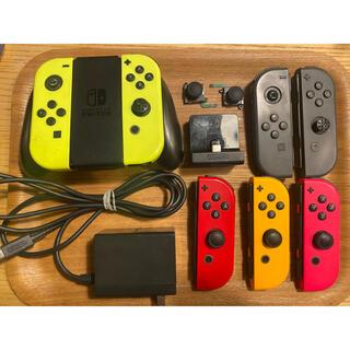 Nintendo Switch - ジャンク品ニンテンドーNintendoスイッチSwitchジョイコンセット