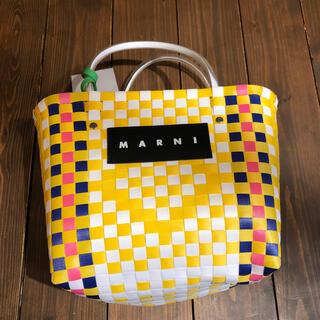 Marni - マルニフラワーカフェ❤️marniトートバッグストローバッグ
