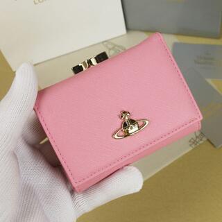 Vivienne Westwood - 新品 Vivienne Westwood 三つ折り財布 ピンク 13106