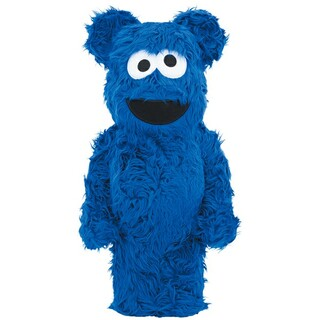 BE@RBRICK COOKIE MONSTER Costume 1000%(その他)