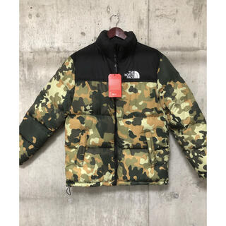 THE NORTH FACE - THE NORTH FACE camouflage ダウンジャケットS