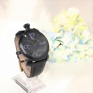 ガガミラノ(GaGa MILANO)のガガミラノ 49本限定☆ No.13 手巻き ブルーサファイヤ(腕時計(アナログ))