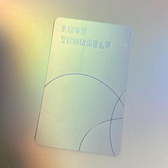 防弾少年団(BTS)(ボウダンショウネンダン)のジョングク トレカ エンタメ/ホビーのタレントグッズ(アイドルグッズ)の商品写真