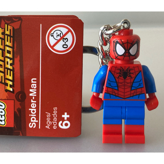 レゴ(Lego)のLEGO スパイダーマン ヴェノム 2個 キーホルダー キーリング レゴ (アメコミ)