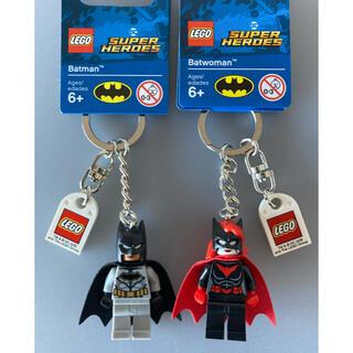 レゴ(Lego)のレゴ バットマン バットウーマン 2個 キーリング キーホルダー ミニフィグ(アメコミ)