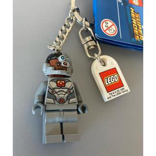 レゴ(Lego)のLEGO アメコミ スーパーヒーローズ サイボーグ キーホルダー キーリング(アメコミ)