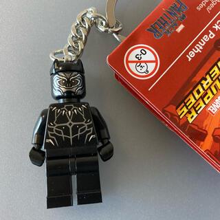 レゴ(Lego)のレゴ アメコミ マーベル ブラックパンサー キーリング キーホルダー フィグ(アメコミ)