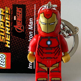 レゴ(Lego)のLEGO アベンジャーズ アイアンマン キーホルダー キーリング アメコミ(アメコミ)