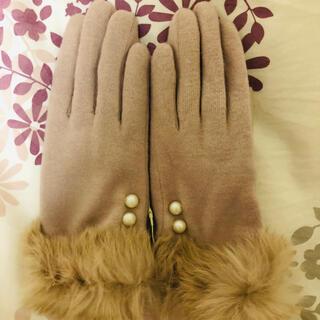 エージーバイアクアガール(AG by aquagirl)のファー手袋(手袋)