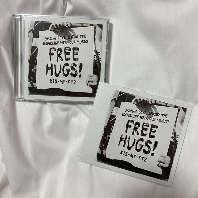 Kis-My-Ft2(キスマイフットツー)のFREE HUGS!初回限定盤B チケットの音楽(男性アイドル)の商品写真
