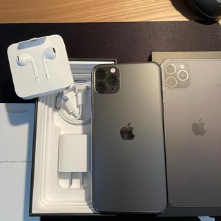 Apple - iPhone 11Pro Max  512GB SIMフリー スペースグレー