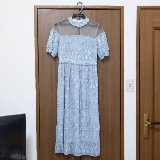Lily Brown(リリーブラウン)のLily Brown ワンピース ドレス パーティードレス リリーブラウン レディースのワンピース(ひざ丈ワンピース)の商品写真