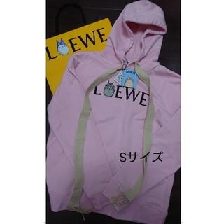 LOEWE - 人気のピンク ロエベ トトロ フーディ LOEWE パーカー S