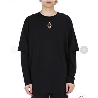 マルセロブロン(MARCELO BURLON)のMARCELO BURLON 『FIRE CROSS』ロングスリーブTシャツ(Tシャツ/カットソー(七分/長袖))