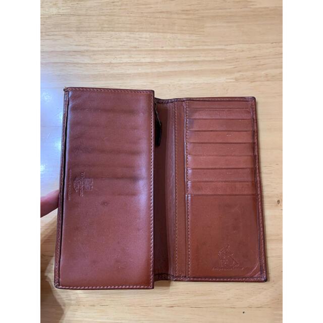 WHITEHOUSE COX(ホワイトハウスコックス)の ホワイトハウスコックス アンティークブライドルレザー  ロングウォレット  メンズのファッション小物(長財布)の商品写真