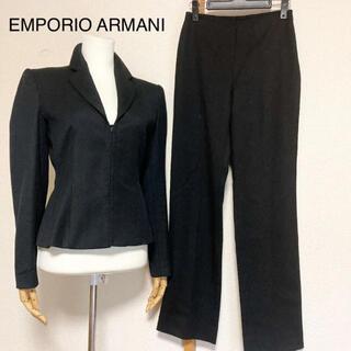 エンポリオアルマーニ(Emporio Armani)のエンポリオアルマーニ パンツスーツ ブラック(スーツ)