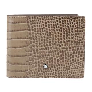 モンブラン(MONTBLANC)のMONTBLANC モンブラン 二つ折り財布 【本物保証】(財布)